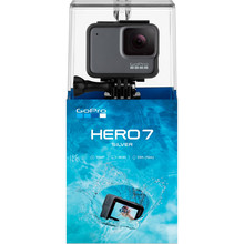 GoPro HERO7 Silver - Waterproof Digital Action Camera with Touch Screen 4K HD Video 10MP Photos