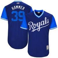 MLB Men S Kansas City Royals Jason Hammel Hammer Baseball Royal 2017 Players Weekend Authentic Jersey