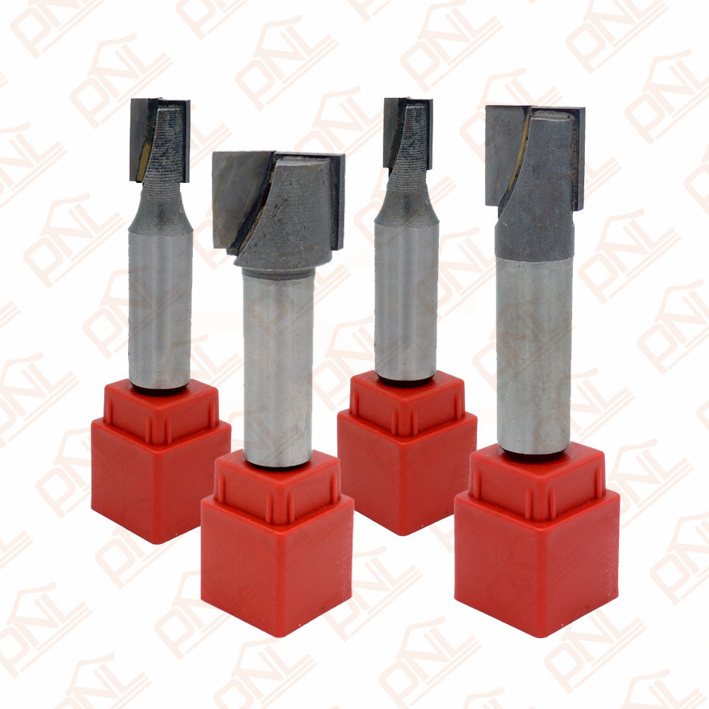 Pack of 4 Mixed Set 1/2 Shank Bottom Cleaning Dado Router Bit high grade carbide alloy 1 2 shank 2 1 4 dia bottom cleaning router bit woodworking milling cutter for mdf wood 55mm mayitr