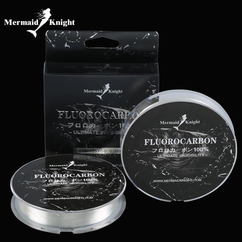 165YdS / 150M Fluorocarbon Balıqçılıq Xətti Karbon Fiber Lider Xətti Balıq Balıqları Üçün 0.1 ~ 0.4MM rəngsiz