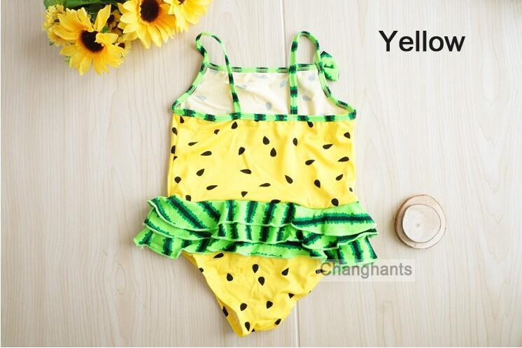 Kinder Schwimmen tragen badeanzug Baby Mädchen Bademode Watermelon muster Kinder Badeanzug 2-4 Jahre sw0659