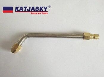 Bent boquilla de pistola de aire acondicionado ángulo doblado 60 grados, outlet diámetro del agujero 060 40 grados 150Bar arandela de alta presión