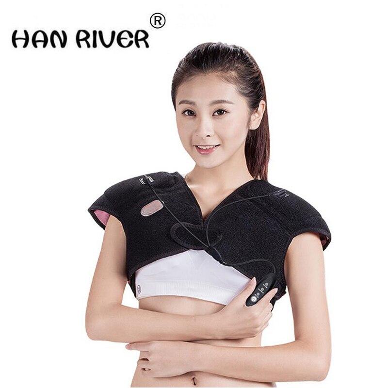 HANRIVER Electric heating body massager shoulder neck heating heat warm bed fever cervical spine care instrument