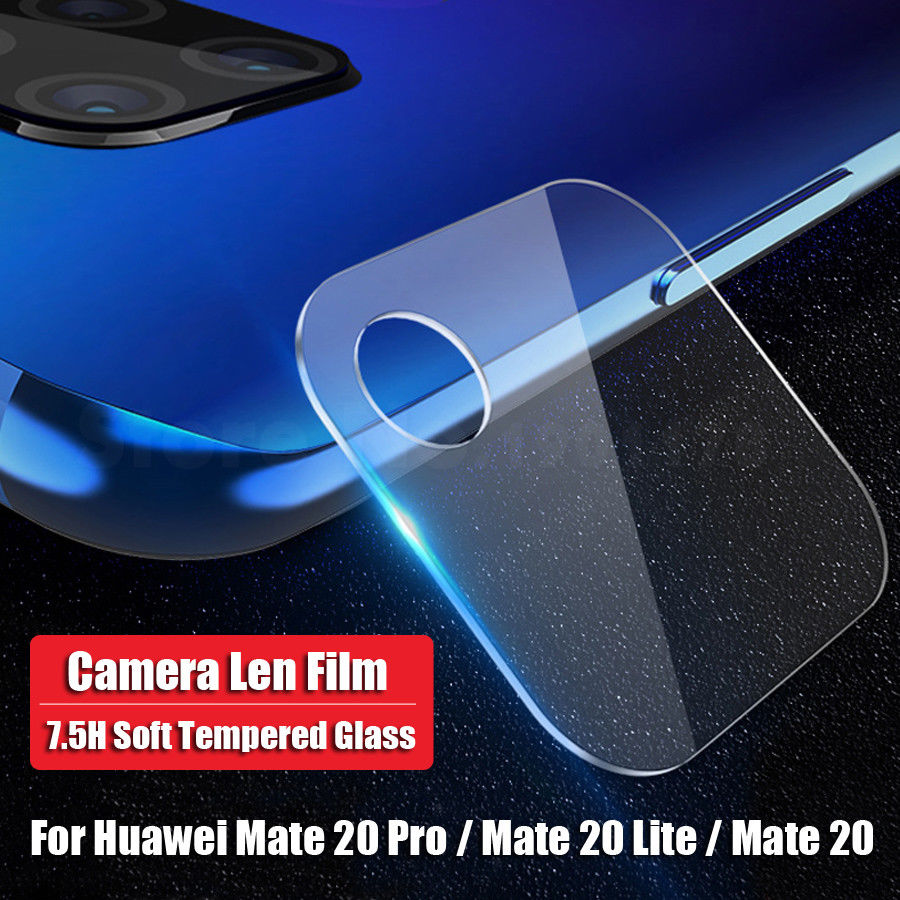 Akcoo 2 Pieces Camera Len Film for Huawei Mate 20 screen protector easy instal lens protector for huawei mate 20 pro lite X film 1