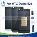 Для Htc Desire 626 626G 626 W 626D 626 Т D626W ЖК-Дисплей С Сенсорным Экраном Замена Digitizer Ассамблеи + Рамка Черный Белый Синий + Инструмент