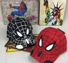 2019 Spiderman Cartoon Children Embroidery Cotton Baseball Cap Kids Boy Girl Hip Hop Hat Cosplay  kids hat