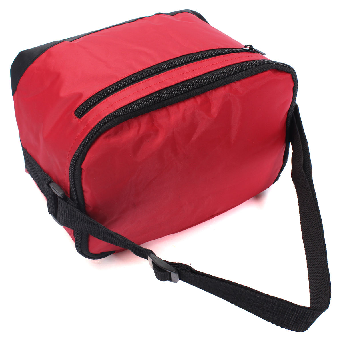 FGGS Thermal Cooler Waterproof Insulated Portable Tote Picnic Lunch Bag New Stylish red