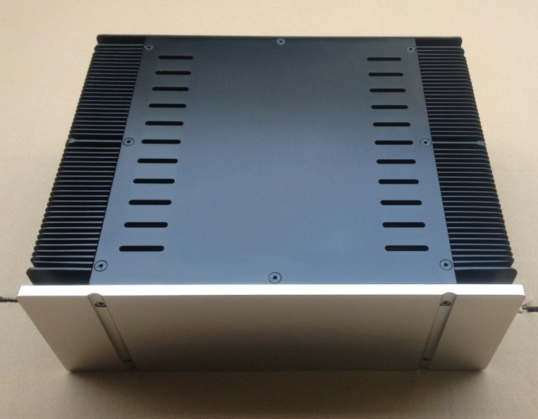3309 Class A Aluminum Amplifier Chassis Amp Enclosure /Case / Box 320*268*90mm 3206 amplifier aluminum rounded chassis preamplifier dac amp case decoder tube amp enclosure box 320 76 250mm