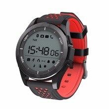 Световой Смарт часы Smart Band высота метр термометр IP68 Водонепроницаемый Шагомер smartwatch спортивный ремешок для IOS Android