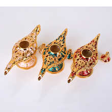High Quality Aladdin Magic Lamp Fairy Tale Lamps Tea Pot Genie Vintage Toys Home Decoration For Children Gifts