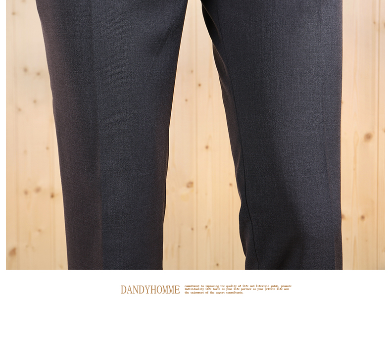 Высокое качество Новинка Весна Осень мужские тонкие Умные повседневные серые деловые свадебные костюмы Длинные брюки Модные темно-серые джентльменские брюки
