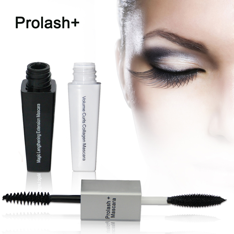 Prolash + <font><b>Mascara</b></font> Make-Up Wasserdicht Verlängerung Kosmetik <font><b>Mascaras</b></font> Damen Frauen Falsche Wimpern Make Up <font><b>Mascara</b></font> image