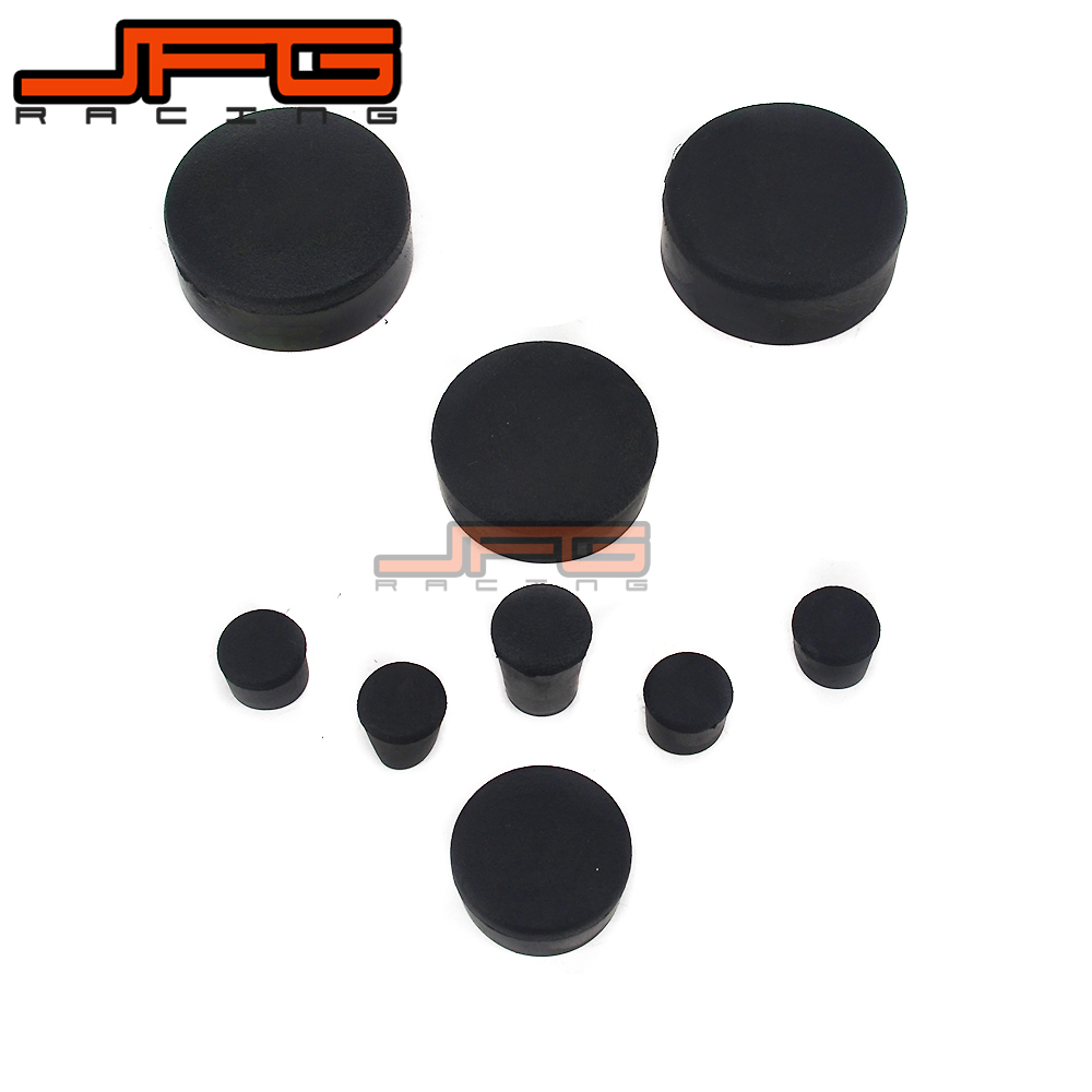 Motorcycle Rubber Frame Fairings Plugs For <font><b>SUZUKI</b></font> <font><b>GSX1000R</b></font> GSXR1000 GSXR 1000 2005 2006 05 06 rubber image