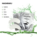 NAGARAKU,50 pairs set,Under eye pads, Lint Free Eye Gel patches, Eye patches,for eyelash extension