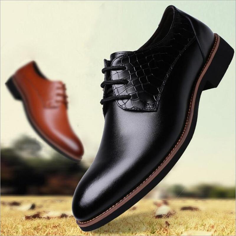 f6c75013d71 Moda Zapatos Para De Hombre Hombres Vestir Trajes Nuevo Pu 2016 xaYSAS
