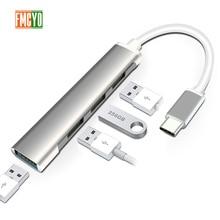 Docking station portátil All in One USB C para HDMI DP Adaptador para MacBookType C HUB Leitor de Cartão Para telefone móvel