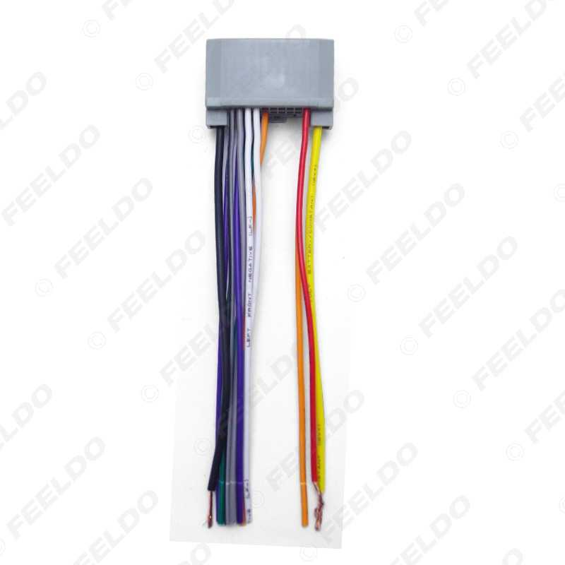 Wondrous Feeldo Car Audio Stereo Wiring Harness Adapter Plug For Jeep Wrangler Compass Oem Factory Radio Cd Dvd Wiring Digital Resources Bemuashebarightsorg