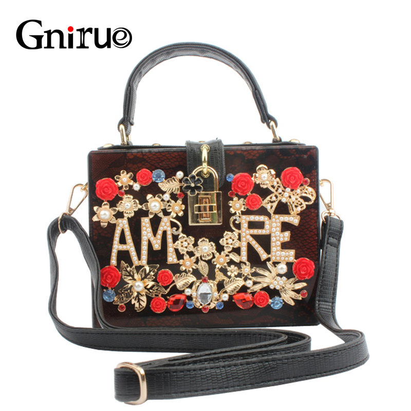 Vintage Serpentine Acrylic Clutch Fashion Letter Appliques Evening Bags Flowers Ladies Hand Bags Diamonds Women Shoulder Bag free shipping 2015 top gifts new bride rhinestone evening bags punk colored acrylic diamonds clutch bag shoulder handbags 0430