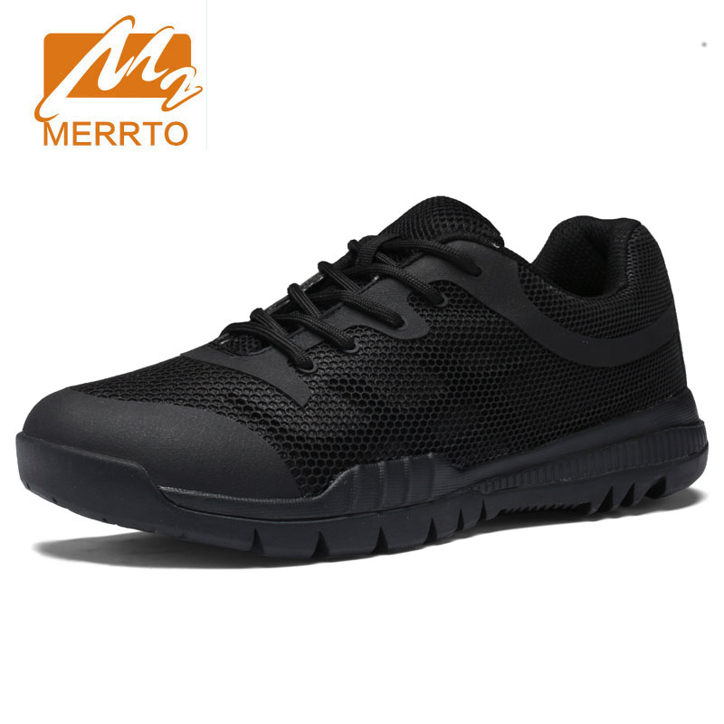 Hiking Shoes Man Skid Proof Sneakers Genuine Leather Waterproof Camping Outdoor Sport Shoes Athletic Tactical Shoes Plus