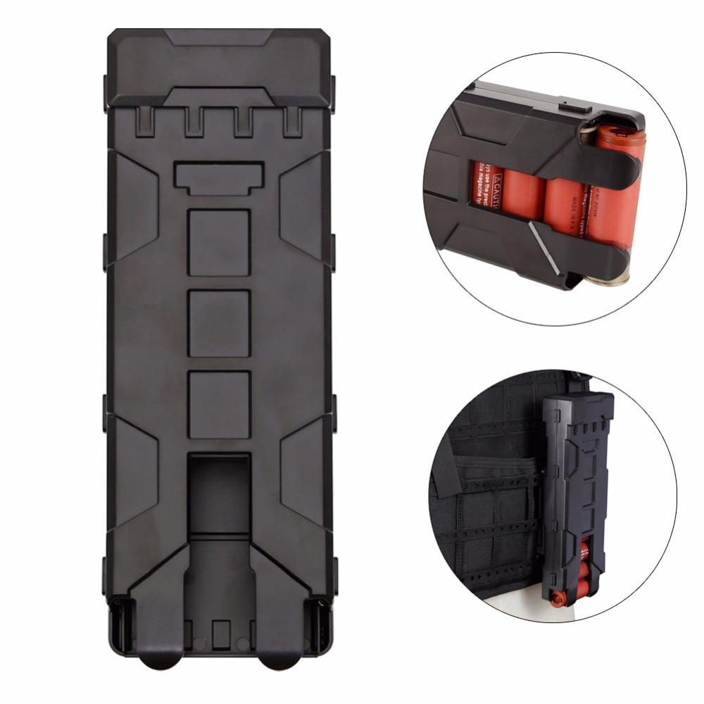 Tactical Reload Shotgun Magazine Pouch 10 Rounds 12GA 12 Gauge Ammo Shells Molle Box цена