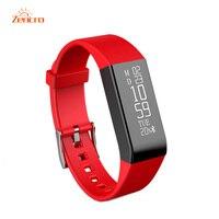 Smart Pulse Meter Fitness Health Tracker Bluetooth Bracelet Pedometer