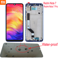 Original Xiaomi Redmi Note 7 LCD Display Touch Panel Screen Digitizer Assembly with frame For Hongmi Note 7 Note7 Pro Sensor