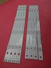New Kit 8pcs LED strip Replacement for LG LC420DUE 42LB650V 42LF5500 INNOTEK DRT 3.0 42 inch A B 6916L 1957A 6916L 1956A