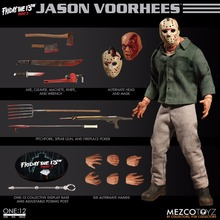 Mezco Toyz 77160 Friday The 13th Part 3 Jason Voorhees 1/12 Action Figure