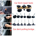 PDR Tool Paintless Dent Puller Remover Pulling Bridge Dent Removal Hand Tool Set For Car Dent Repair Tools Newly design 7X tabs