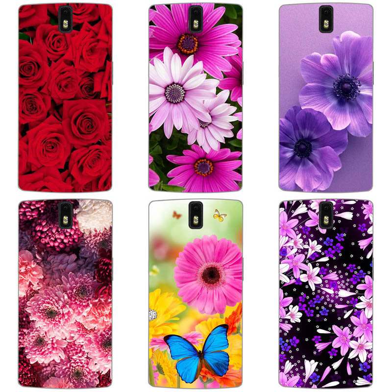 Colorful Cell Phone Covers Case for <font><b>Oneplus</b></font> 1 / <font><b>One</b></font> Plus <font><b>One</b></font> <font><b>A0001</b></font> Soft TPU Cases Printed <font><b>Back</b></font> Cover Capa Full Protective Shell image