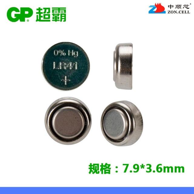 1.5 В кнопки щелочные LR41 GP Super 192 ag3 v3ga l736 часы электронный термометр Перезаряжаемые литий-ионный аккумулятор