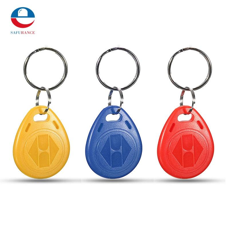 10pcs 125kHz RFID ID Card Key Keyfobs Access Control Tag non standard die cut plastic combo cards die cut greeting card one big card with 3 mini key tag card