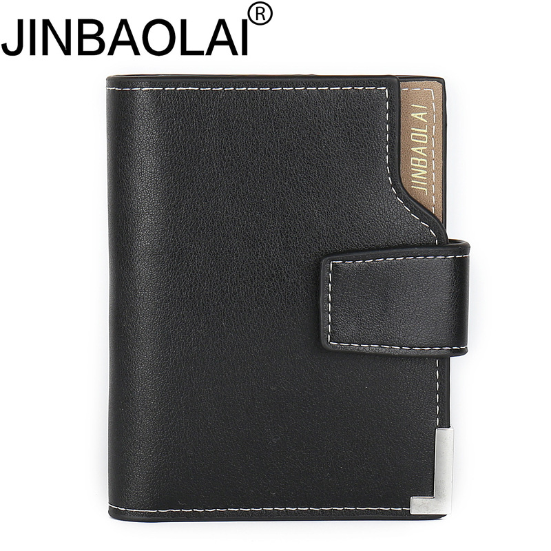 Fashion Men Wallet Male Purse For Perse Walet Short Cuzdan Slim Vallet Small Money Bag Thin Badge Credit Card Holder Mini Pocket