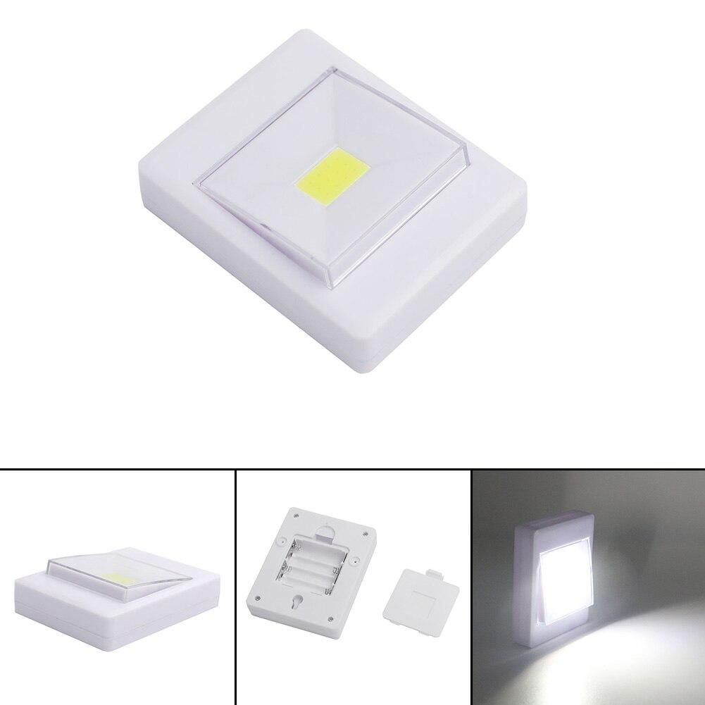 Портативный мини удара аккумуляторный светодиодный светильник переключатель Ночные светильники Кухня кабинет, гараж гардероб ночника лаг... ...