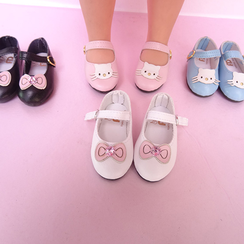 6cm <font><b>BJD</b></font> <font><b>shoes</b></font> <font><b>1/4</b></font> <font><b>doll</b></font> <font><b>shoes</b></font> with cat bowknot design for <font><b>1/4</b></font> <font><b>BJD</b></font> <font><b>shoes</b></font> Sharon <font><b>doll</b></font> <font><b>shoes</b></font> <font><b>doll</b></font> accessories image