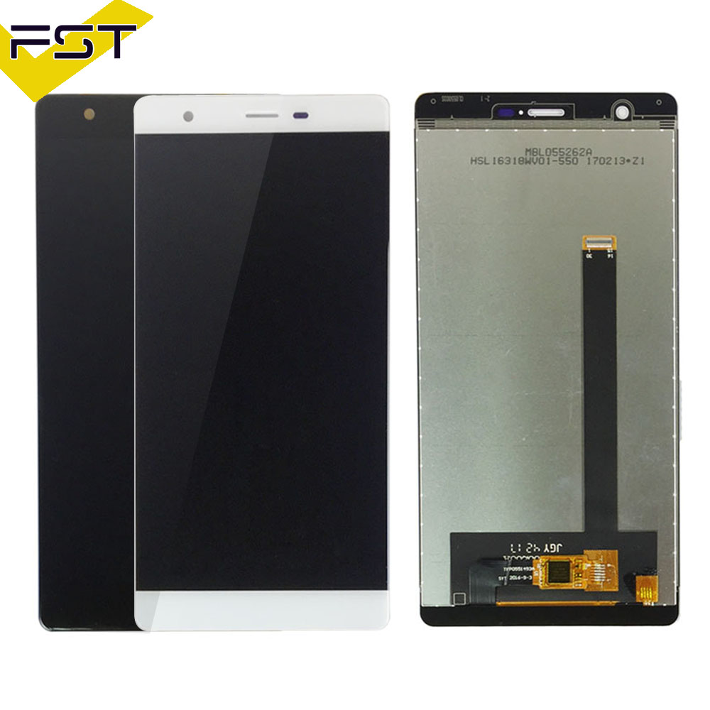 Black/White For Oukitel U13 LCD Display+Touch Screen 100% Tested LCD+Digitizer Assembly Glass Panel Spare Parts+Free Tools