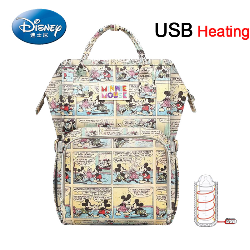 Disney diaper bag backpack Nappy Bag Mummy Maternity Travel Backpack Large Capacity Baby Bag Stroller Care Insulation Bags disney large capacity baby bag stroller diaper bag mummy maternity nappy bag travel backpack for baby care insulation bags