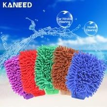 2017 1 pcs Super Mitt Microfiber Household Car Wash Washing Cleaning Gloves Car Washer Anti Scratch