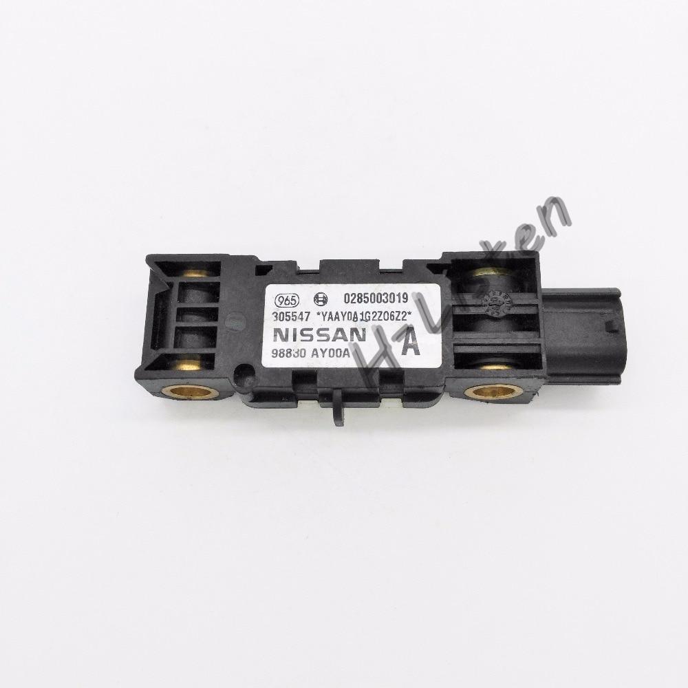 Free shipping 98830 AY00A 98830AY00A Auto Parts Collision Sensor Airbag Crash sensor Impact sensor For N