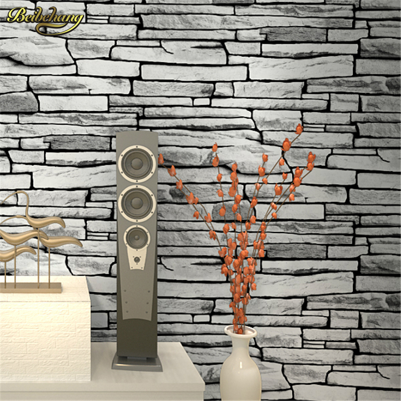 beibehang Antique Chinese retro 3d stereo culture stone wallpaper stone pattern brick wallpapers living room restaurant tea bar beibehang 3d brick wallpapers antique brick brick wallpaper chinese nostalgia restaurant hotel backdrop retro vintage wallpaper
