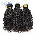 New star бразильские вьющиеся переплетения девы человеческих волос кудрявый вьющиеся alibaba экспресс-красивой и популярной модели стилей 3 расслоения на продажу