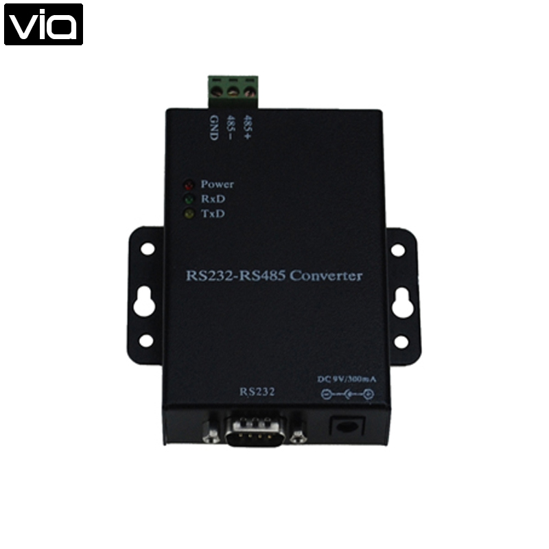 WG485P Free Shipping RS232-RS485 Converter EIA RS-232 RS-485 Standard photoelectric isolation active rs485 converter rs232 interface converter lightning protection rs485 to rs232 converter
