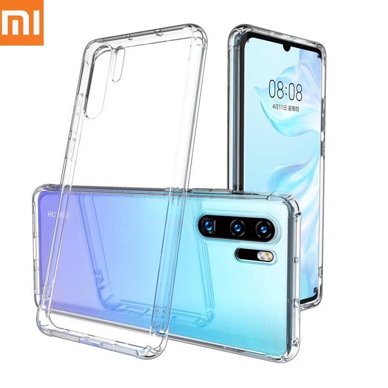 Xiaomi mi9 case Four-corner anti-fall mobile phone case for xiaomi mi 9se mi 9 lite 9T 9t pro 8 8se/lite Ultra-thin transparent.