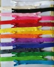 20ピース/ロット多色見えないジッパー60センチ用縫製アクセサリークッション/家庭用の布/スカートバック (色を選択すること)
