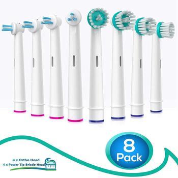 BEST DEAL] אוראלי B Interproximal נקי מברשת החלפת Oral-b