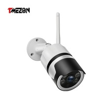 TMEZON 2MP IP Camera Outdoor Waterproof HD Video Surveillance Security Camera Built in SD Card Slot