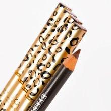 Кистью leopard подводка коричневый макияжа бровей карандаш глаз водонепроницаемый черный женщины