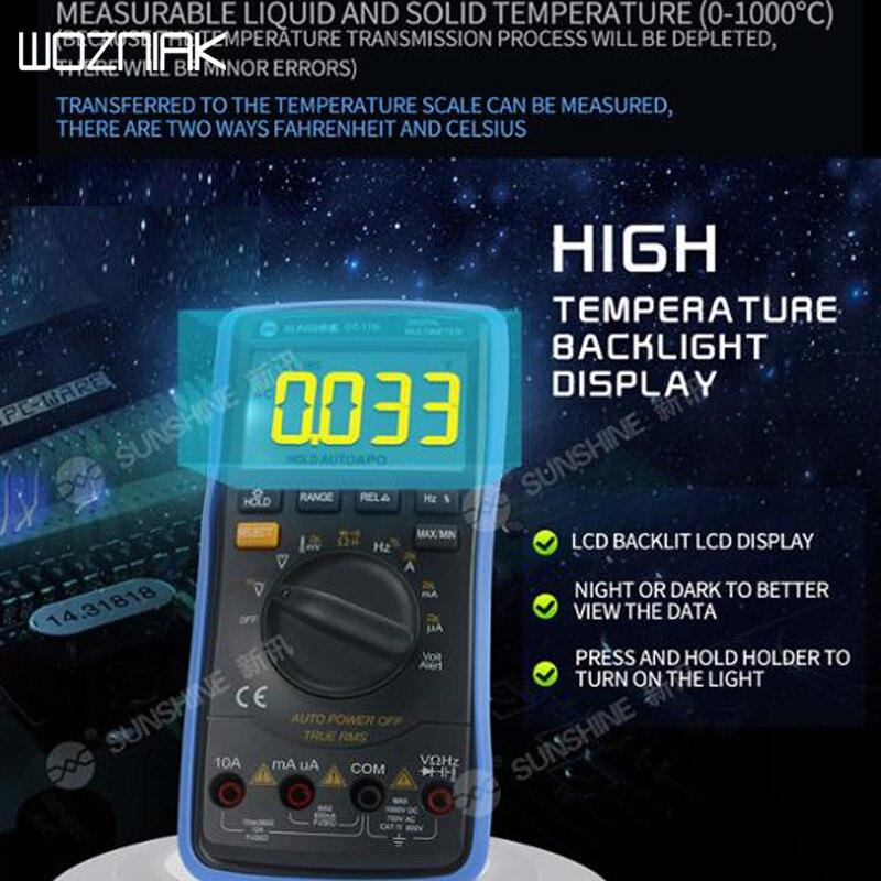 DT-17N Auto Range Lcd Display Multimeter Digital Multimeter Is 35/6 Automatic Digital Instrument