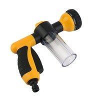 Newest Portable High Pressure Auto Car Foam Water Sprayer Car Wash Foam Sprayer Black And Yellow