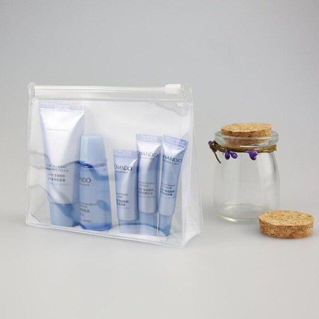 PVC Transparent Cosmetic Bag Women Travel Make up Toiletry Bags Makeup Organizer Case Women Cosmetic Bags